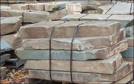 Northeast Stone Works - Blue Dimensional Cut Stone